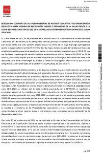 2021-10-04 RESOLUCIÓN CONJUNTA VPE-VOE COVID-19 2021-2022 OK 25995741